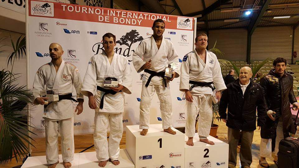PODIUM AS BONDY JUDO