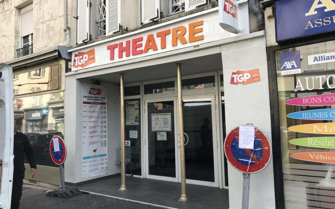 Enseigne Théâtre Gérard Philipe