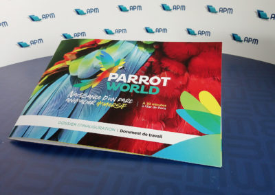 Parrot Wolrd - Dossier d'inauguration