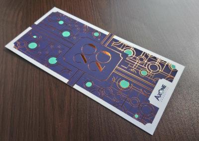 Axone - Carte de voeux