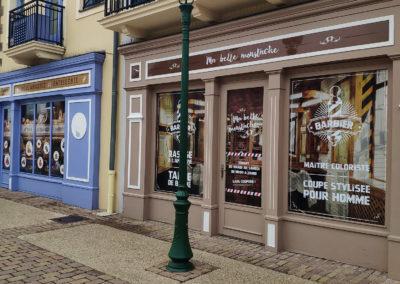 Hôtel Marriott : Création vitrines