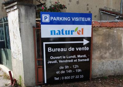 Coop Access Panneau Parking