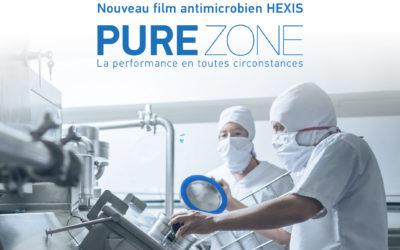 APMEDIA – Distributeur de Pure Zone®, le nouveau film antimicrobien de Hexis