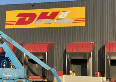 Enseigne DHL