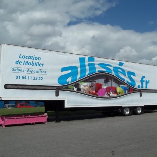 Marquage sur remorques et camions – ALISES