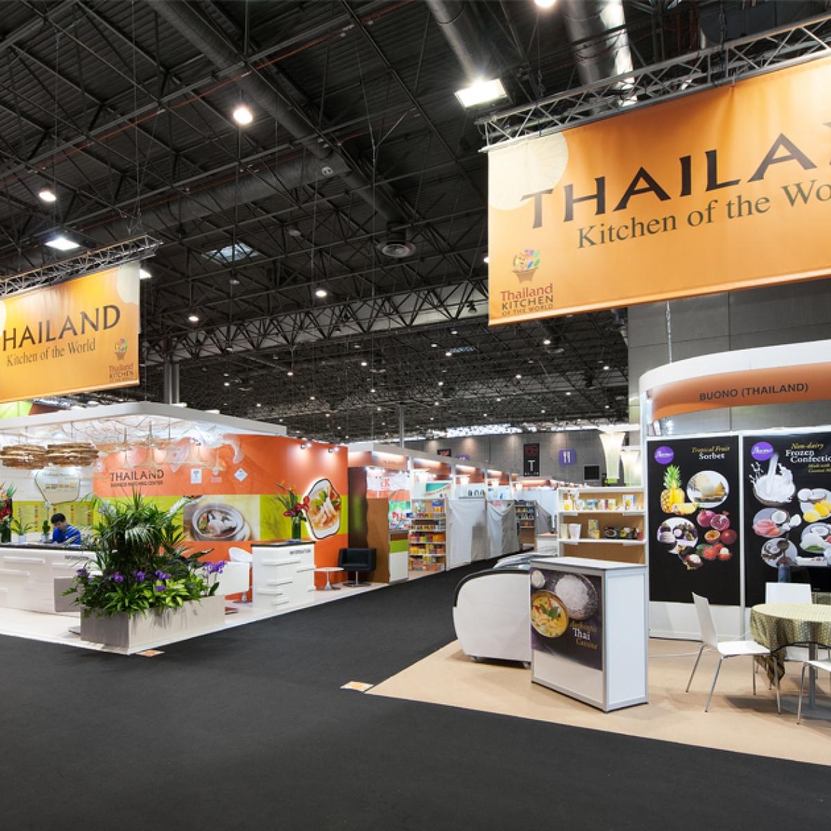 Habillage de stands – Salon SIAL «Pavillon de la Thaïlande»