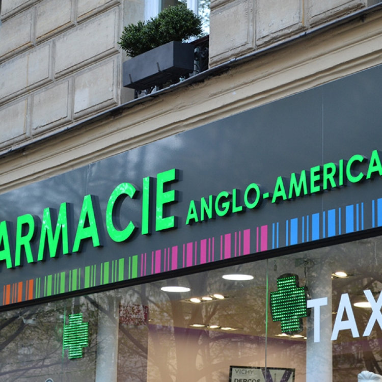 Lettres Lumineuses Pharmacie